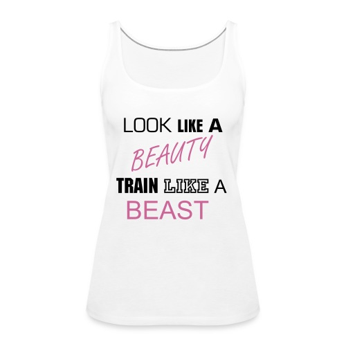 GYMBELLE Train Like A Beast Tank - Women's Premium Tank Top