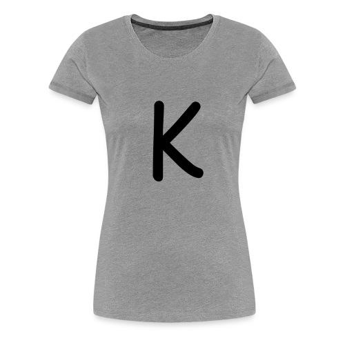 K-Frauenshirt - Frauen Premium T-Shirt