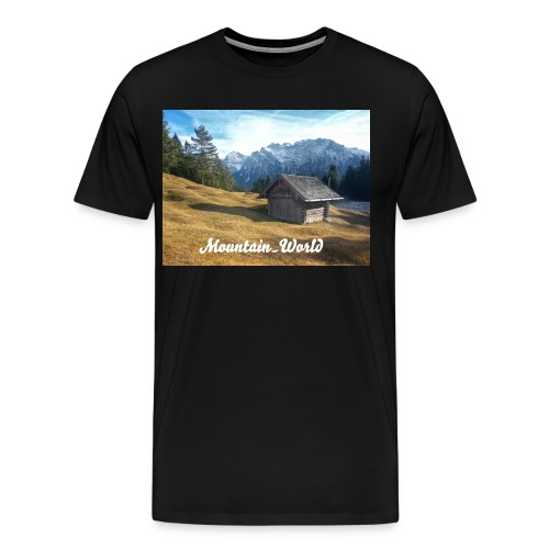 Mountain World - Männer Premium T-Shirt