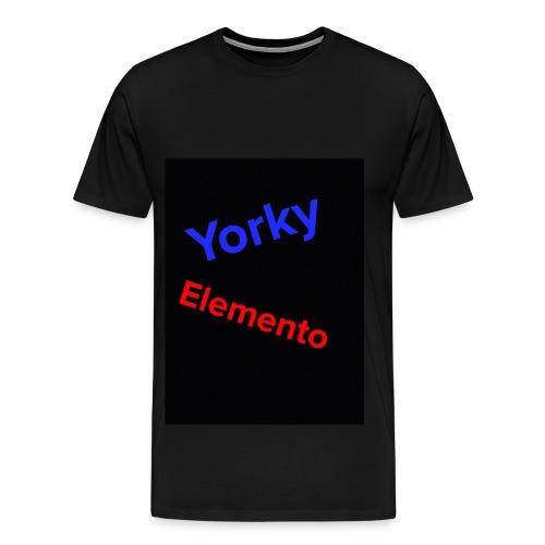 official yorky t shirt - Men's Premium T-Shirt