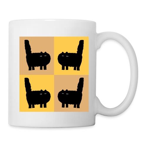 Gold Katzen  - Tasse
