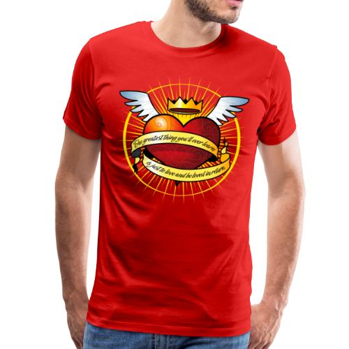 Cuore alato - t-shirt uomo - Men's Premium T-Shirt
