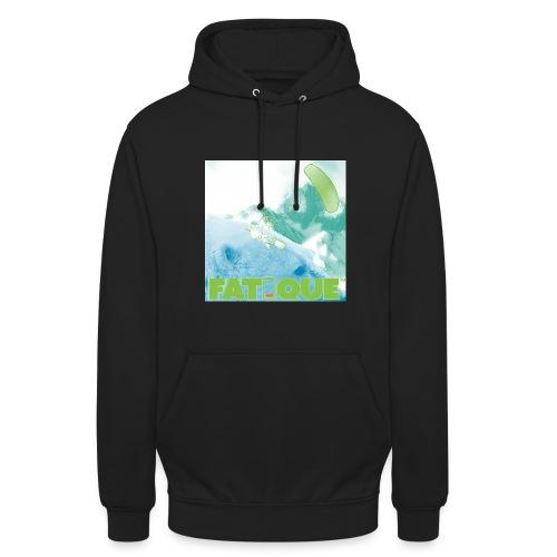 "Polarbear kite mountain green Hoodie - Huppari ""unisex"""