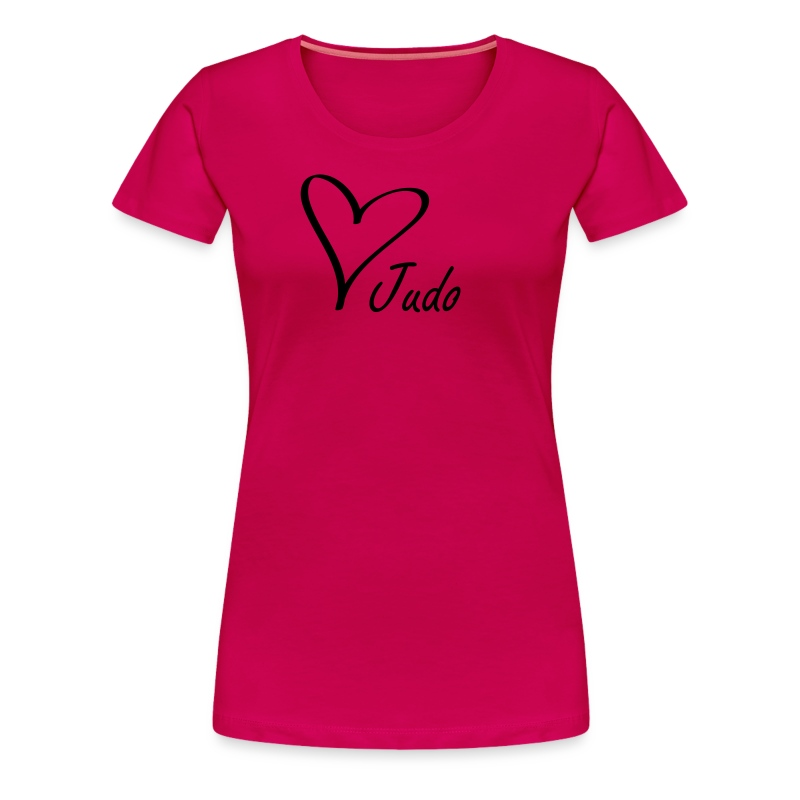 Love Judo t-skjorter for dame Dame - Premium T-skjorte for kvinner
