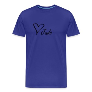 Love Judo t-skjorte for menn - Premium T-skjorte for menn