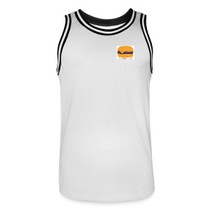Jay loves B-ball. - Men's Basketball Jersey