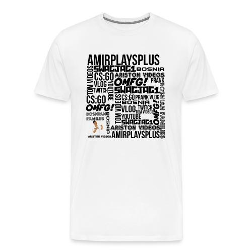 APP SUMMARY TEE - Men's Premium T-Shirt