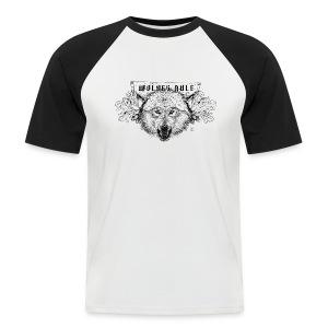 men's baseballshirt Wolves Rule - Men's Baseball T-Shirt