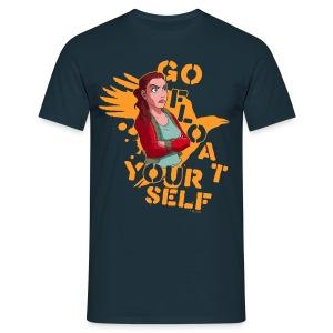 Go float yourself! - Männer T-Shirt