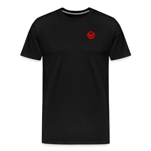 WLYP Shirt w/ Red Logo - Men's Premium T-Shirt