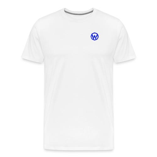 WLYP Shirt w/ Blue Logo - Men's Premium T-Shirt