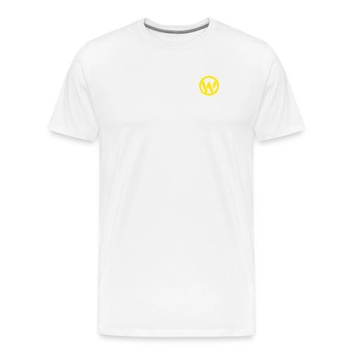 WLYP Shirt w/ Yellow Logo - Men's Premium T-Shirt
