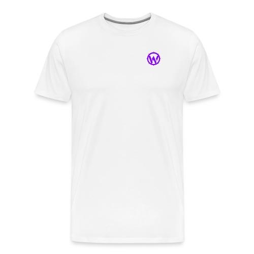 WLYP Shirt w/ Purple logo - Men's Premium T-Shirt