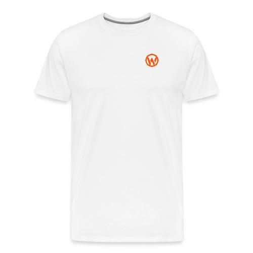WLYP Shirt w/ Orange Logo - Men's Premium T-Shirt