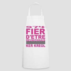 Tablier de cuisine  974 Fier d'être Réunionnais - Tablier de cuisine