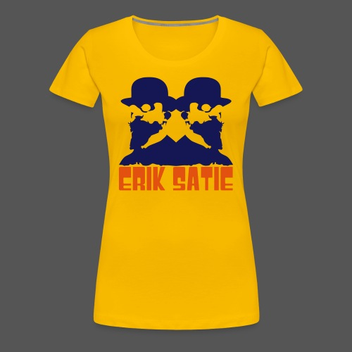 Satie Twin Girl Yellow Lmt. Edition - Women's Premium T-Shirt