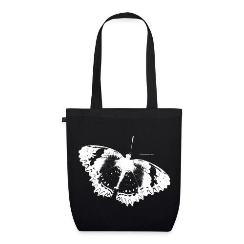 dunkle Schmetterlingstasche - Bio-Stoffbeutel