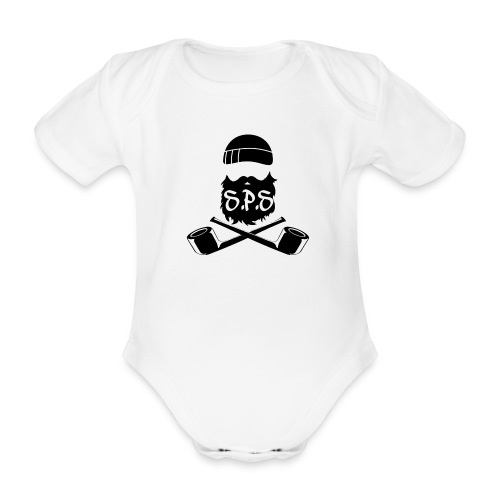 Baby - Ekologisk kortärmad babybody