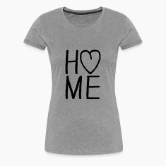 i love Home Herz Tee shirts