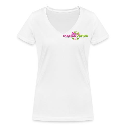 Mango Verde V-Shirt - Frauen Bio-T-Shirt mit V-Ausschnitt von Stanley & Stella