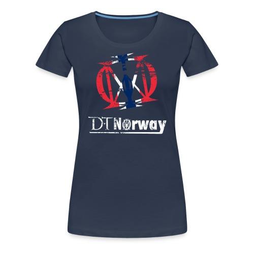 DTNorway Kvinner - Premium T-skjorte for kvinner