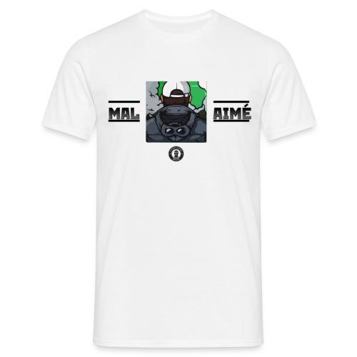 T-Shirt Homme Mal-aimé - T-shirt Homme