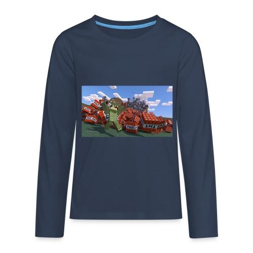 dinoshirt teenager - Teenager Premium Langarmshirt