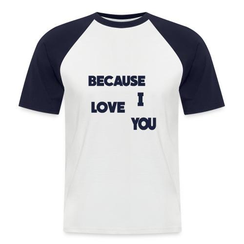 T-Shirt Saint Valentin - T-shirt baseball manches courtes Homme