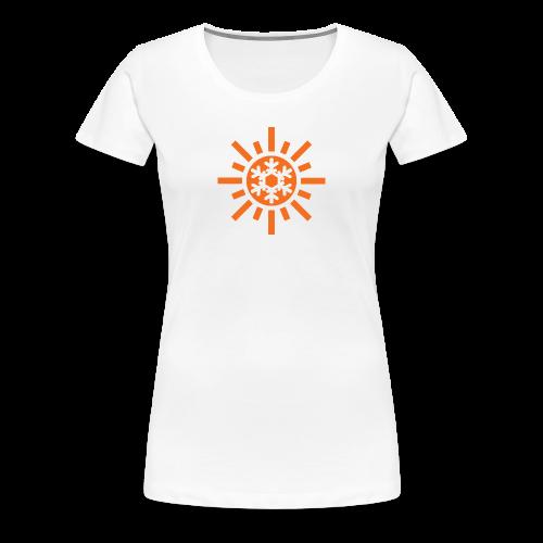 Sunflake Womens T-Shirt - Women's Premium T-Shirt