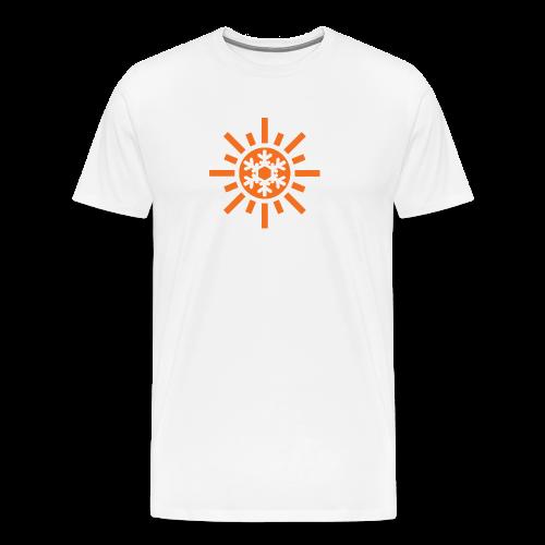 Sunflake Mens T-Shirt - Men's Premium T-Shirt