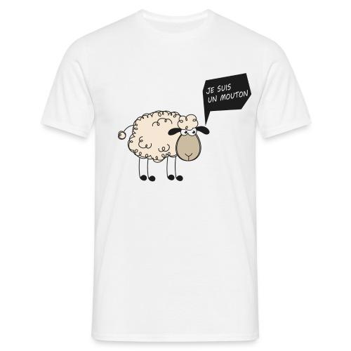je_suis_un uton Tee shirts - T-shirt Homme