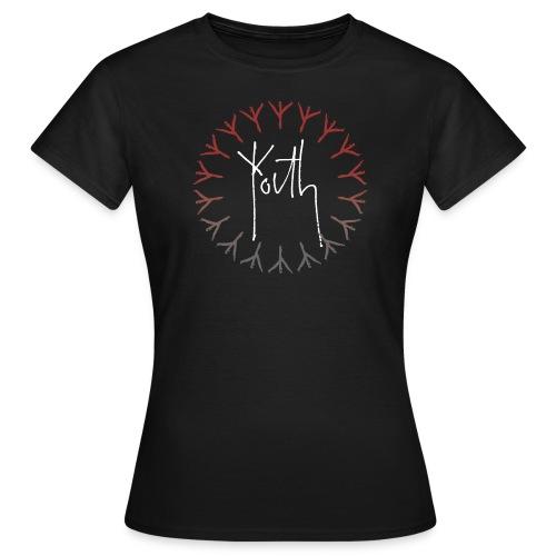 Youth Film Logo Red/Grey Women's T-Shirt - Women's T-Shirt