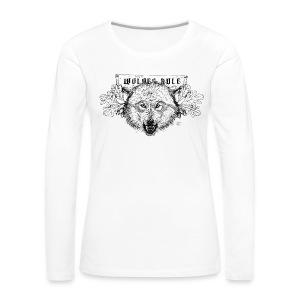 Women's long shirt Wolves Rule - Women's Premium Longsleeve Shirt