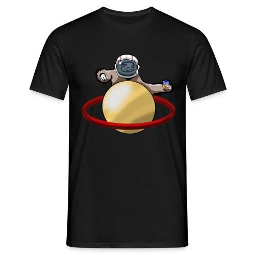 Faultier im Weltall - Männer T-Shirt