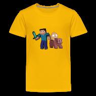Shirts ~ Teenage Premium T-Shirt ~ An Egg's Guide - Mens