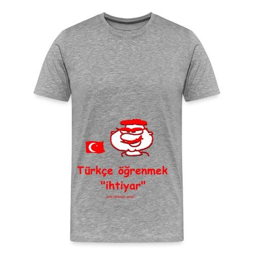 türkce ögrenmek - Männer Premium T-Shirt