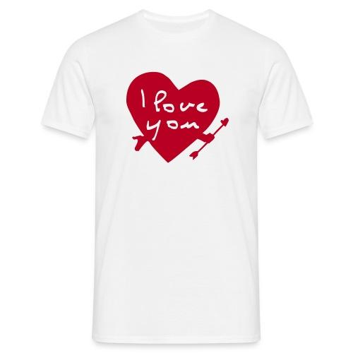 Love-Shirt - Männer T-Shirt
