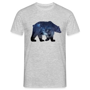 bear ours etoile nuit galaxie Tee shirts - T-shirt Homme
