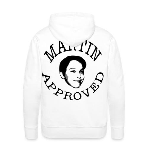 Martin Approved Mens Hoodie - Premiumluvtröja herr
