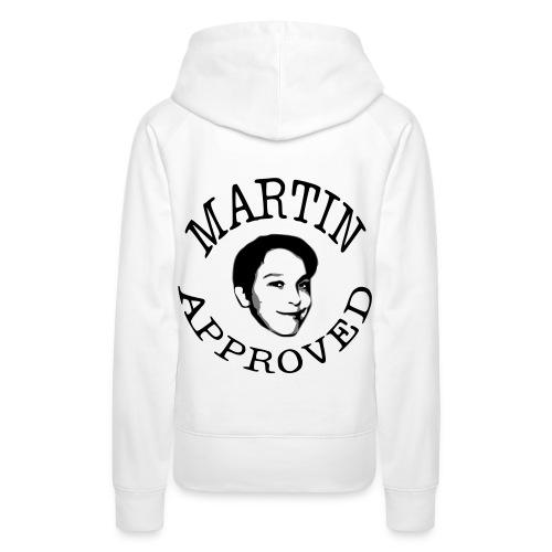 Martin Approved Womens Hoodie - Premiumluvtröja dam