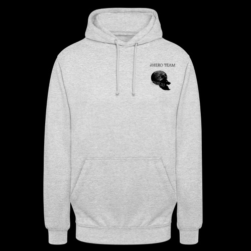 Heroes Are Meant To Be Warm - Unisex Hoodie