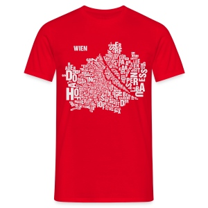 Vienna Shirt Red - Male - Männer T-Shirt
