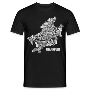 Frankfurt Shirt Black - Male - Männer T-Shirt