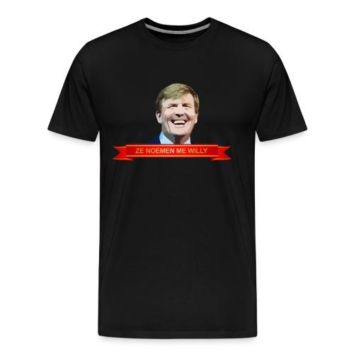 Heren shirt 'Ze noemen me Willy'  - Mannen Premium T-shirt