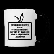 Tassen & Zubehör ~ Tasse zweifarbig ~ Langohrminister