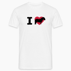 Egg yellow I love ponies I love Shetty I love horses I heart horses Men's T-Shirts
