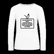 Langarmshirts ~ Frauen Premium Langarmshirt ~ Langohrminister