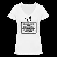 T-Shirts ~ Frauen T-Shirt mit V-Ausschnitt ~ Langohrminister