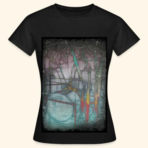 Drums Popart - Frauen T-Shirt
