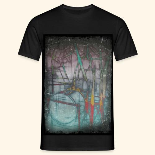Drums Popart - Männer T-Shirt